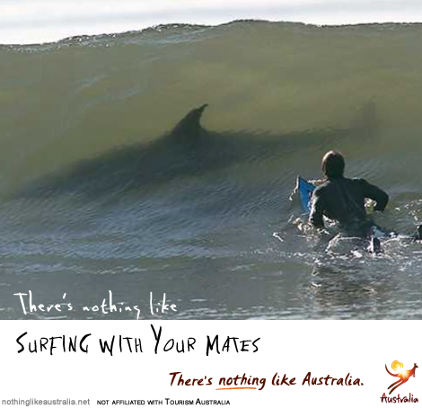 There's nothing like surfing with your mates (in Australia)!